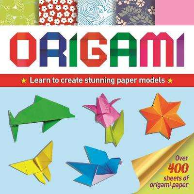 Cover of Origami: Learn Basic Folds To Create Stunning Paper Models - Belinda Webster - 9781839404078