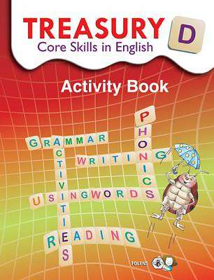 Cover of Treasury D - Core Skills In English 4th Class - Folens - 9781841312460
