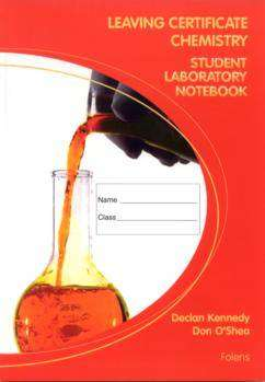 Cover of Chemistry Laboratory Notebook - Declan Kennedy & Don O'Shea - 9781841317878