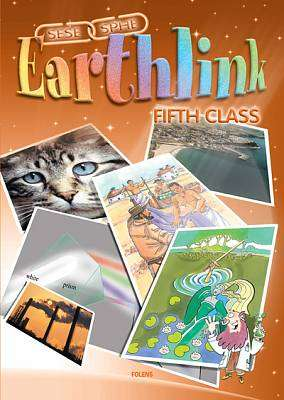 Cover of Earthlink 5th Class Textbook & Activity Book - Folens - 9781841318783