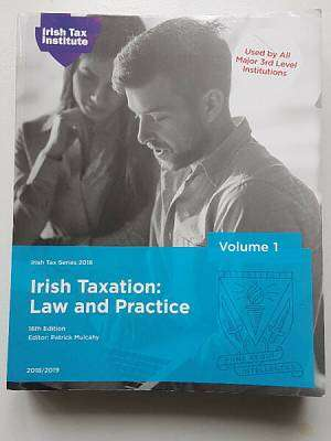 Cover of Irish Taxation: Law & Practice, Vol 1 & 2 2019/2020 - Mulcahy; May; Kennedy; Whyte; Sheridan; - 9781842605264