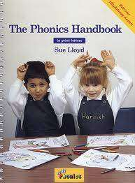 Cover of Jolly Phonics Handbook Print Letters - Sue Lloyd - 9781844140787