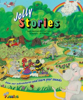 Cover of Jolly Phonics Jolly Stories - Jolly Learning - 9781844140800