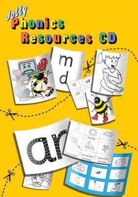 Cover of Jolly Phonics Resource CD - Sue Lloyd - 9781844141425