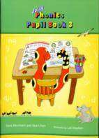 Cover of Jolly Phonics Pupil Book 3 (Colour) - Sara Wernham & Sue Lloyd - 9781844141692