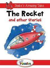 Cover of The Rocket and Other Stories: Level 1 Jolly Phonics Readers - Sara Wernham - 9781844144198