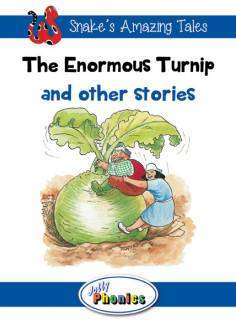 Cover of The Enormous Turnip and Other Stories: Level 4  Jolly Phonics Readers - Sara Wernham - 9781844144280