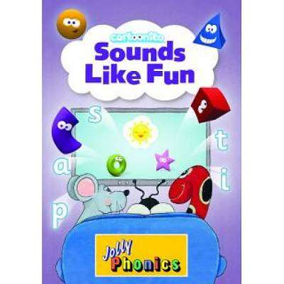 Cover of Sounds Like Fun: Jolly Phonics Cartoonito DVD - Jolly Learning - 9781844144327