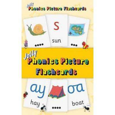 Cover of Jolly Phonics Picture Flash Cards - Sara Wernham - 9781844144334