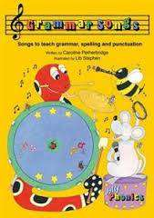 Cover of Jolly Phonics Grammar Songs - Caroline Petherbridge - 9781844144341