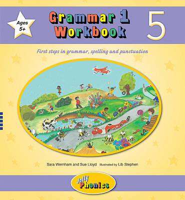Cover of Grammar 1 Workbook 5 - Sara Wernham - 9781844144617