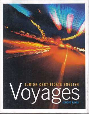 Cover of Voyages - Edmond Behan - 9781845360993