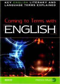 Cover of Coming To Terms With English - Edco - 9781845361167