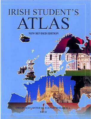 Cover of Irish Students Atlas Revised - Elenor Butler - 9781845361365
