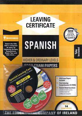 Cover of Edco Exam Papers Spanish Higher & Ordinary Level Leaving Cert - Edco - 9781845361457