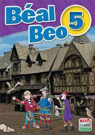 Cover of Beal Beo 5 - 5th Class Text + CD - Brian de Bhaldraithe - 9781845363710