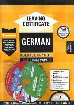 Cover of Edco Exam Papers German Higher & Ordinary Leaving Cert - Edco - 9781845364687