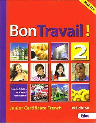 Cover of Bon Travail 2- Book & 2 CDs 3rd Edition Free E-Book code - Geraldine McQuillan & Marie Stafford & C - 9781845365257