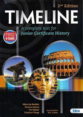 Cover of Timeline 2nd Edition - Maire De Butler & Grainne Henry & Tim Ny - 9781845366117