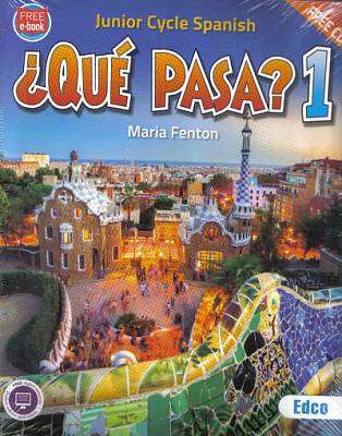 Cover of Que Pasa? 1 - Junior Cycle Spanish - Maria Fenton - 9781845367381