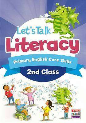 Cover of Let's Talk Literacy - 2nd Class - AnneMarie Tierney & Orla Mackey - 9781845368029
