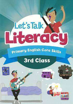 Cover of Let's Talk Literacy - 3rd Class - AnneMarie Tierney & Orla Mackey - 9781845368036