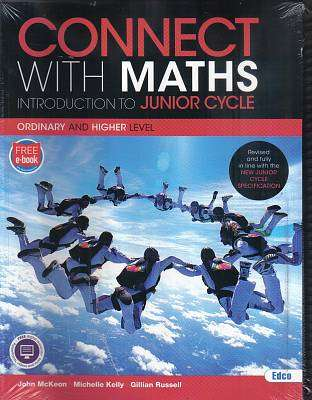 Cover of New Connect With Maths 1 Textbook & Activity Book - John McKeon & Michelle Kelly & Gillian R - 9781845368197