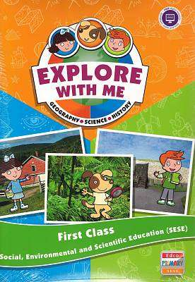 Cover of Explore with Me 1 - 1st Class Text - 9781845368463