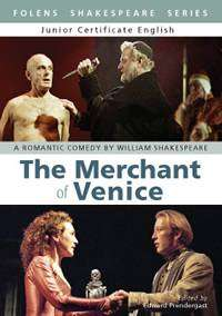 Cover of The Merchant of Venice - Edward Prendergast Folens - 9781847411938
