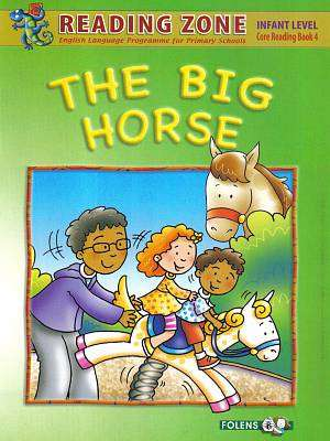 Cover of The Big Horse Book 4 Senior Infants - Jacqueline O'donohoe - 9781847416032