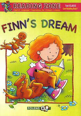 Cover of Finn's Dream Book 1 1st Class - Deirdre Whelan - 9781847416148