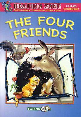 Cover of The Four Friends Book 2 1st Class - Folens - 9781847416155