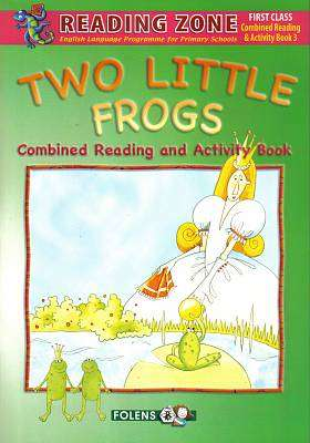 Cover of Two Little Frogs Combined  1st Class - Folens - 9781847416162