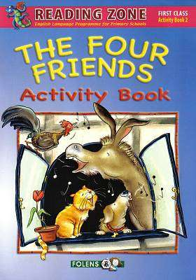 Cover of The Four Friends Activity Book 2 1st Class - Paula Callaghan - 9781847416186