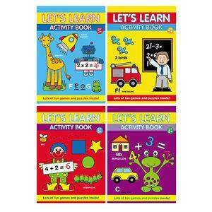 Cover of Let's Learn Colouring Book - Alligator - 9781847508997