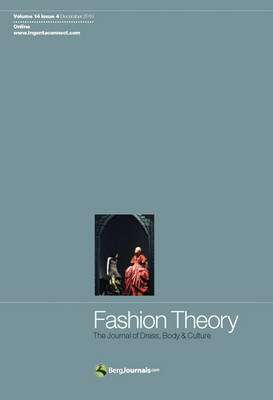Cover of Fashion Theory : The Journal of Dress, Body and Culture - Jennifer Craik - 9781847886545