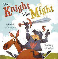 Cover of The Knight Who Might - Lou Treleaven - 9781848864832