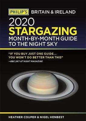 Cover of Philip's 2020 Stargazing Month-by-Month Guide to the Night Sky Britain & Ireland - Heather Couper - 9781849075206