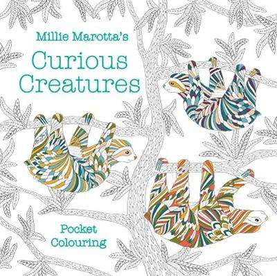 Cover of Millie Marotta's Curious Creatures Pocket Colouring - Millie Marotta - 9781849946247