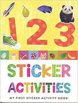 Cover of My First Sticker Activity 123 - 9781849993302
