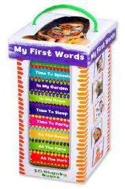 Cover of Book Tower: My First Words - 9781849993586