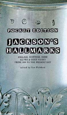 Cover of Jackson's Hallmarks Pocket Edition 2nd Edition - Ian Pickford - 9781851497751