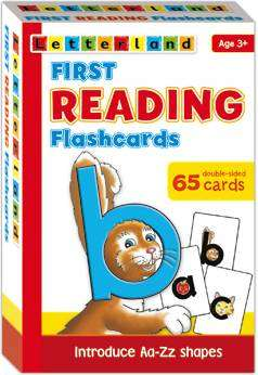 Cover of Letterland First Reading Flashcards - Lyn Wendon - 9781862092273