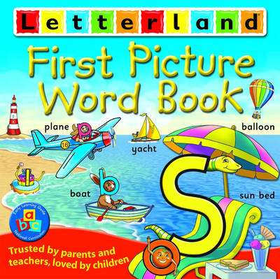 Cover of First Picture Word Book Softback - Letterland - 9781862092440