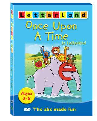 Cover of Letterland Once Upon A Time DVD - Lyn Wendon - 9781862093102