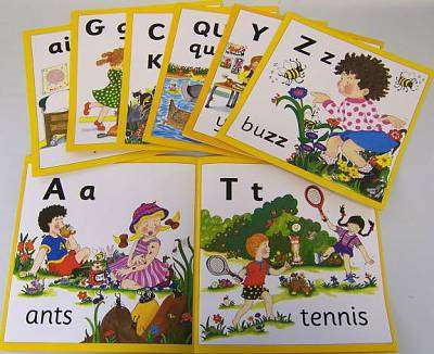Cover of Jolly Phonics Wall Frieze - Sue Lloyd - 9781870946322