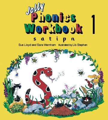 Cover of Jolly Phonics Workbook 1 - Sue Lloyd - 9781870946513