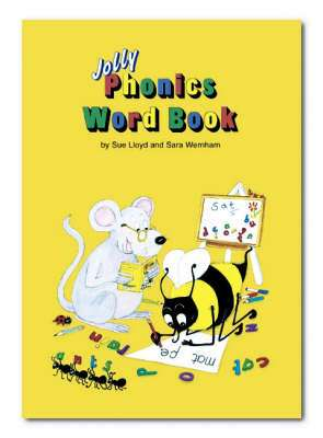 Cover of Jolly Phonics Word Book - Sue Lloyd - 9781870946797