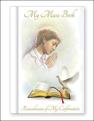 Cover of Confirmation Mass Book Boy - CBC - 9781905534296