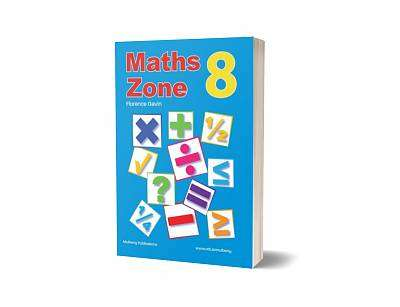 Cover of Maths Zone Book 8 - 6th Class - Florence Gavin - 9781906926830
